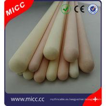 un extremo de alta temperatura cerrado tubo de protección de termopar Vaina de cerámica