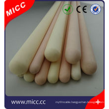 high temperature one end closed thermocouple protection tube Ceramic sheath
