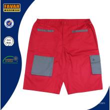 Trabajo de carga de taladro resistente algodón pantalones cortos pantalones