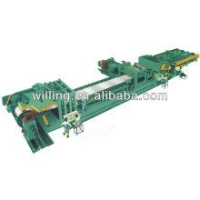 high speed cut to length machine line