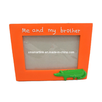 Resin Sculpture Kid′s Photo Frame