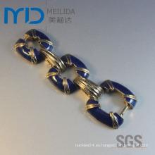 Popular Lady tacón alto ornamento zapato clips cadena hebilla