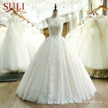 Сл-221 высокое качество кружева Сучжоу свадебное платье 2017