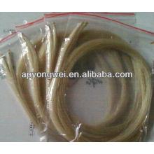 8 hanks 79 centímetros polegadas siberiano violino / viola arco cabelos