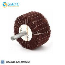 roues à lamelles de polissage en métal
