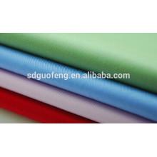 40s spandex sólido tingido grau popeline algodão tecido têxtil com spandex