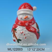 Ceramic Christmas airtight jar