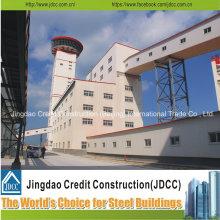 Edificios populares de estructura de acero de diseño