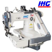 IH18A-L26-1Doubles aiguilles se nourrissent de la machine à coudre à bras
