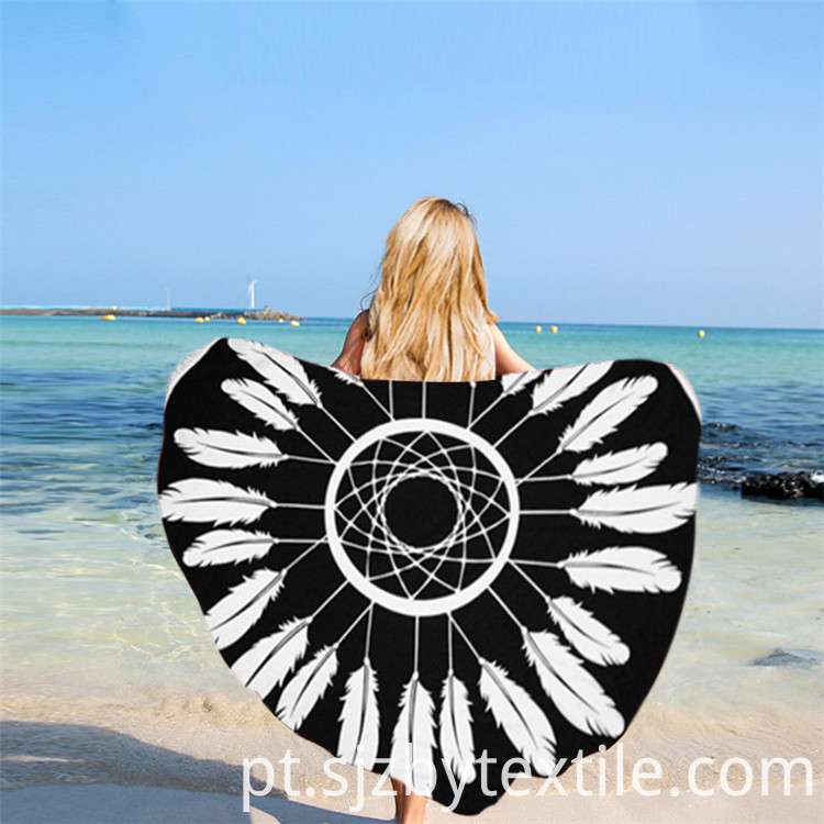 Blue Beach Towels