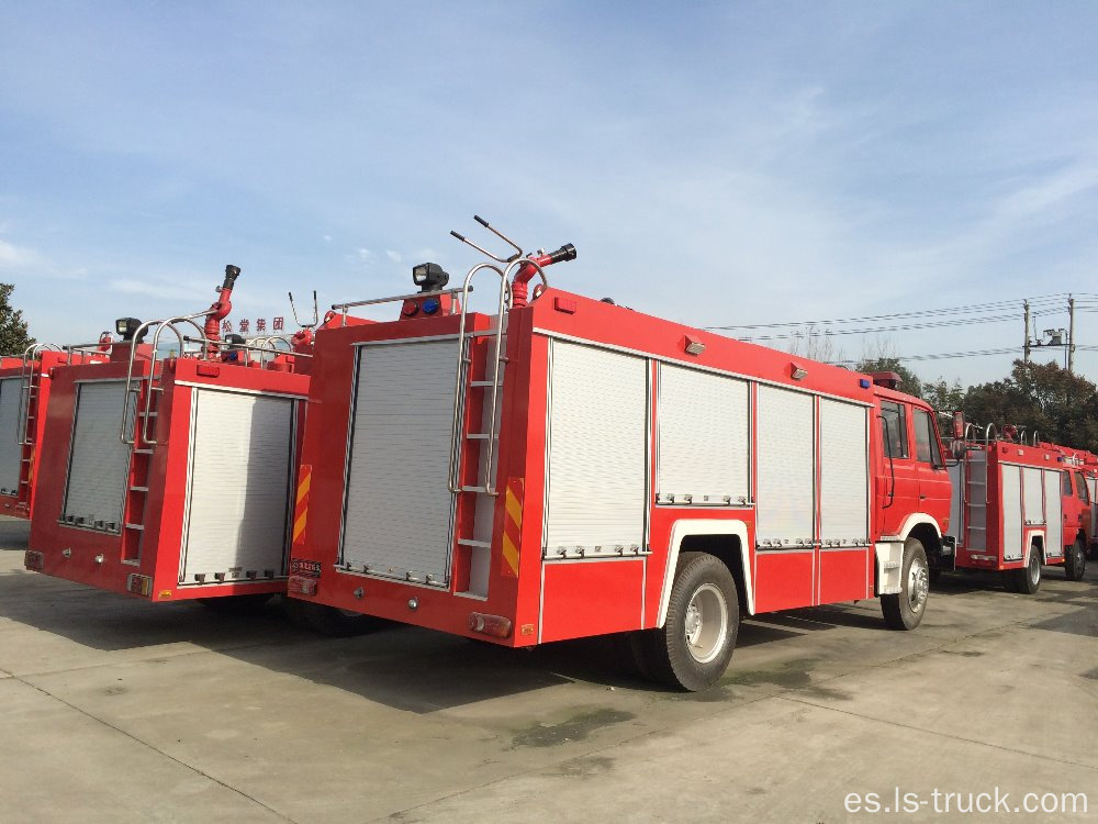 HOWO Fire Engine 266hp 8000L cargando