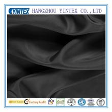 Home Textile Tissu noir en soie de mûrier