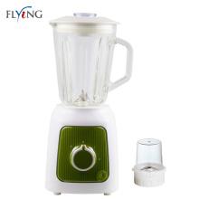 Green Color Electric Wet Seasoning Blender Spice Glass