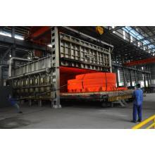 Carro de recocido de gas natural horno de estufa de gas
