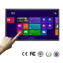 Ângulo de visão alto monitor da tela de toque de 55 polegadas com entrada de HDMI VGA DVI
