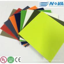 Hoja aislada laminada G10 del color para el modelo de RC