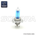 12V DC AC 35W H4 HS1 HB2 halógeno Ultra HEAD LIGHT BULD BLUE (P / N: ST02001-0005) CALIDAD SUPERIOR