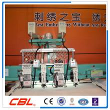 High speed laser embroidery machine