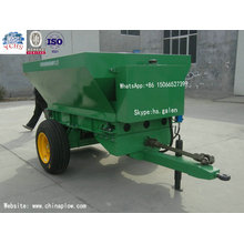 High Efficiency Trailed Fertilizer Spreader with Farm Yto Tractor