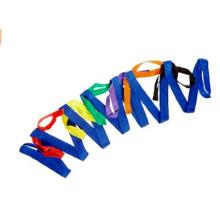 Correia de passeio da criança colorida material do poliéster para estudantes
