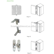 Elegant Stainless Steel Shower Glass Door Hinge