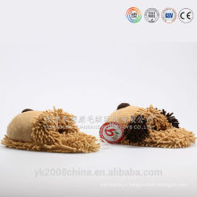 Wholesale cheap cute adult plush house/indoor slipper