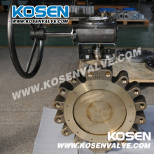 Bronze Metal Seated Butterfly Valve (Lug Type)