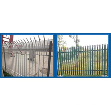 Galvanized and PVC Coated Steel Palisade Fence, Palisade, Euro Fence