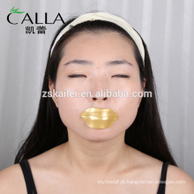 2017 Etiqueta Privada 24 K Ouro 100% Pure Collagen Lip Mask