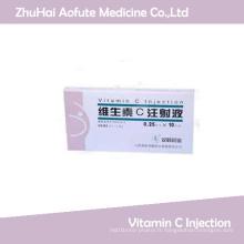 Injection de vitamine C