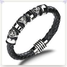 Couro jóias de moda pulseira de couro da jóia (LB421)