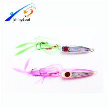 IJL005 señuelos de pesca cebo señuelo señuelo de pesca de agua salada inchiku señuelo de la plantilla de metal