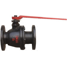 Cast Steel Flanged API Ball Valve