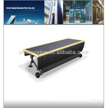 Escalator step chain, escalator step Isu-calator an escalator with a chair