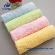 Custom printing paper card 100% bamboo fiber 10''x10'' baby washcloth towel