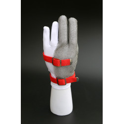 Ring Mesh Gloves-Three finger
