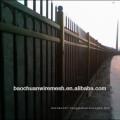 60' hight black nice steel material ornamental iron fence