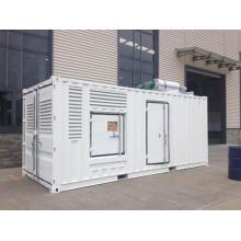 Groupes électrogènes diesel de 552kw / 690kVA Doosan avec l'auvent insonorisé