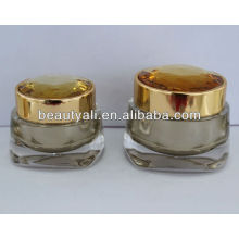 NEW Luxurious Diamond Acrylic Cosmetic Jar