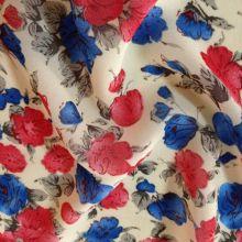 Цифровые печатные вискозы креп стиль женщин платье