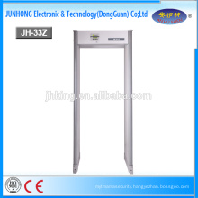 33 Zones Walkthrough Metal Detector Security Gate with High Sensitivity