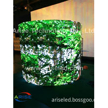 P5.95 outdoor rental led curve cheap, led video wall P5.95 flexible led display,P6mm Outdoor Rental LED Display