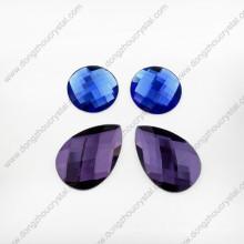 Piedras sueltas de cristal para ropa de baile