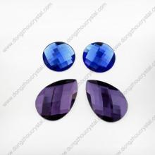 Loose Drop Glass Stones para roupas de dança