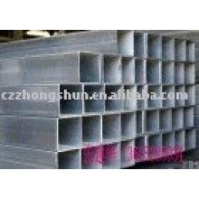Sección hueca de acero cuadrado soldada / ASTM A53 A234 API 5L 5CT, DIN