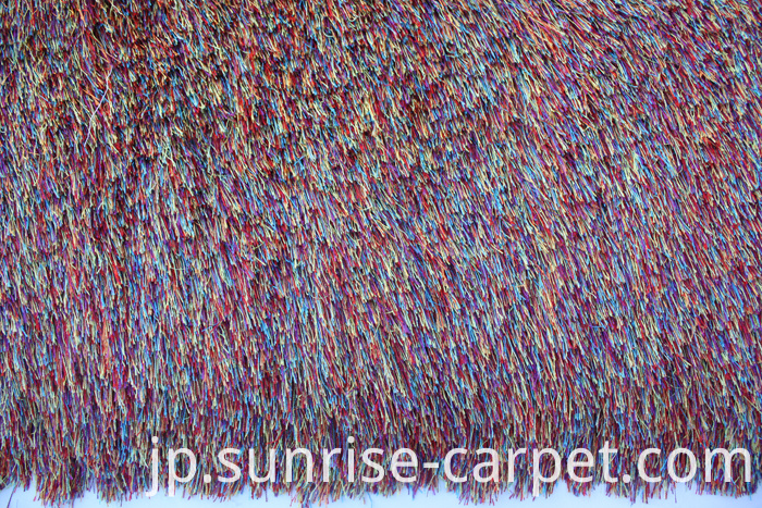 Polyester Shaggy Long Pile Rug