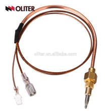 hot-sale skin hot blast stove dome grounding issue thermocouple for salt bath furnace