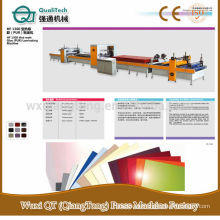 HF1300 Hot-mett Pegamento (PUR) Máquina de laminación / PVC película laminadora