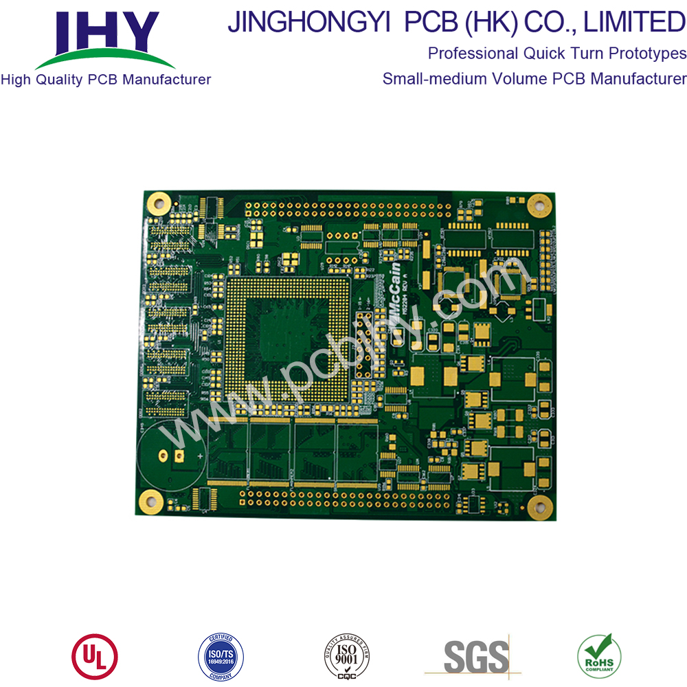 Immersion Gold 1.6mm 1oz 8 Layer PCB