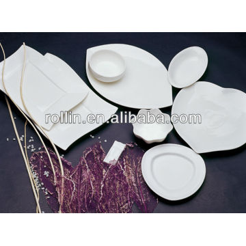 fine white porcelain oven safe hotel cookware set,dinnerware